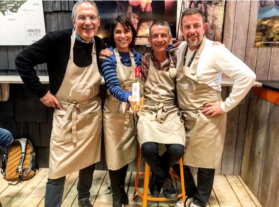 Quatre médailles pour les vins haut-alpins au Salon de l'Agriculture